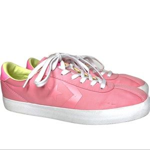 Converse pink and white sneaker